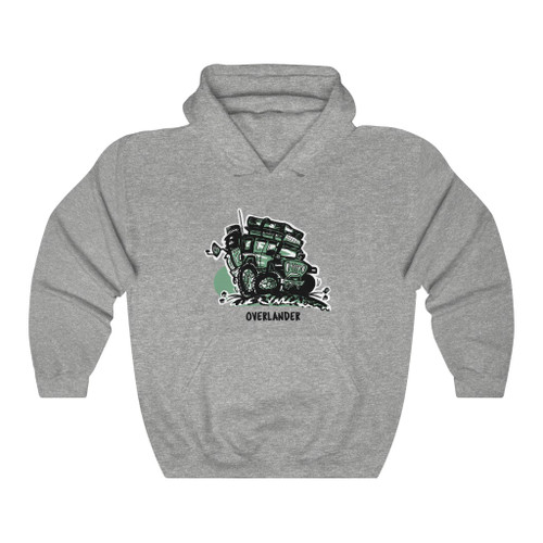 Overlander Unisex Heavy Blend™ Hooded Sweatshirt