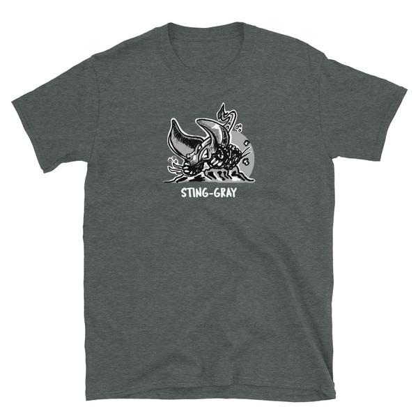 Gray Sting-Gray Short-Sleeve Unisex T-Shirt