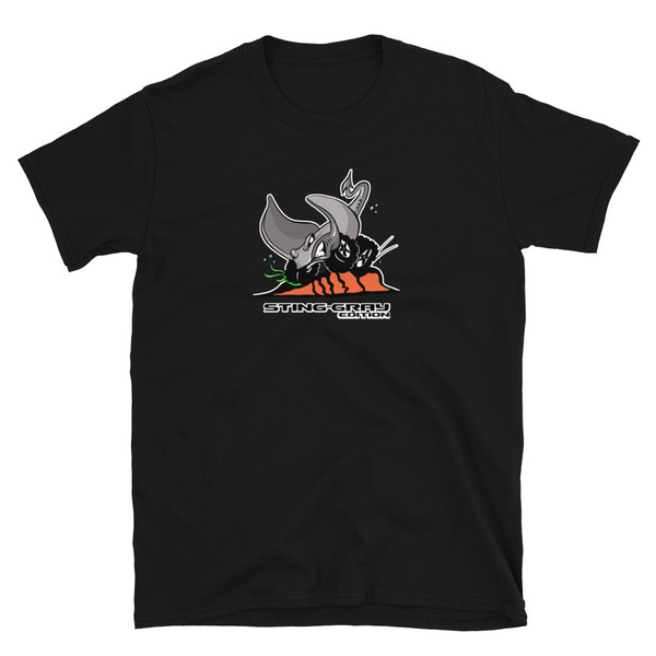 Black Sting-Gray Edition Short-Sleeve Unisex T-Shirt