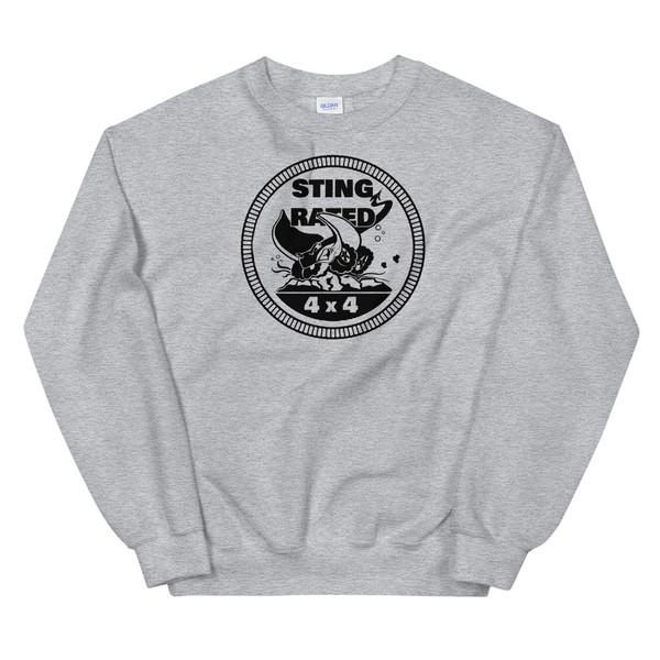 Gray Sting-Rated Unisex Sweatshirt