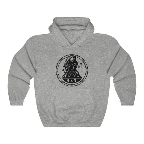 Sarge Badge Unisex Heavy Blend™ Hooded Sweatshirt