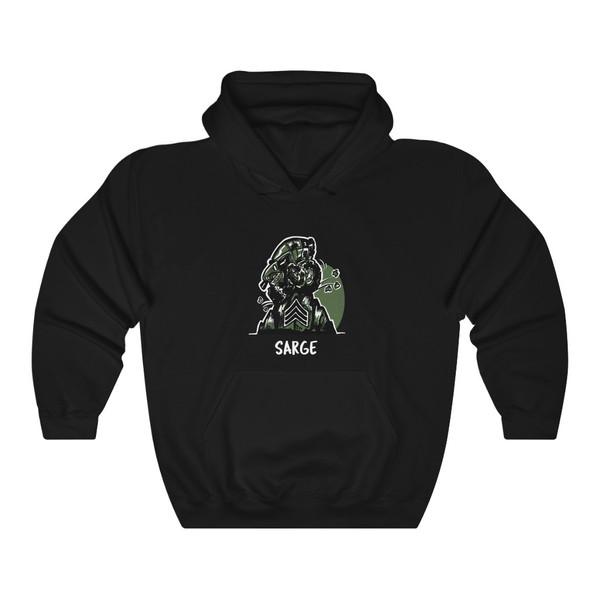 Sarge Unisex Heavy Blend™ Hooded Sweatshirt