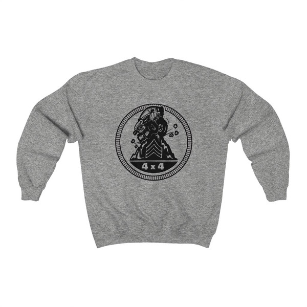 Sting-Rated Badge Unisex Heavy Blend™ Crewneck Sweatshirt