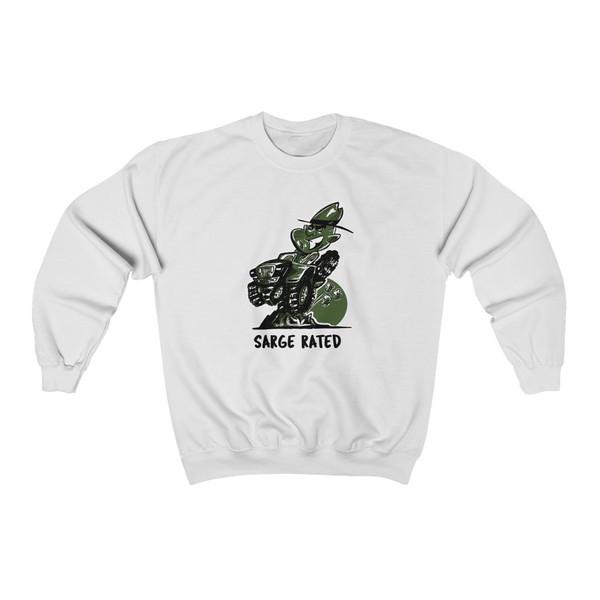 Sarge Rated Unisex Heavy Blend™ Crewneck Sweatshirt