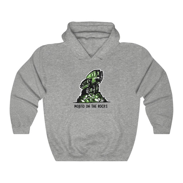 Mojito on the Rocks Unisex Heavy Blend™ Hooded Sweatshirt