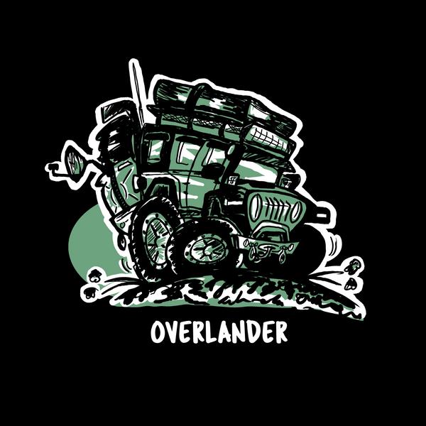 Overlander Decal