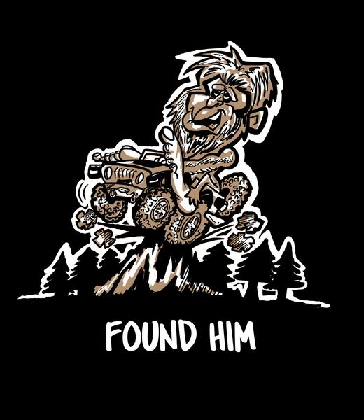Found Him (BigFoot) Decal