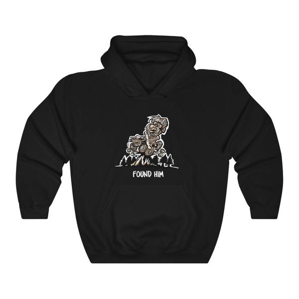 Found. Him (BigFoot) Unisex Heavy Blend™ Hooded Sweatshirt