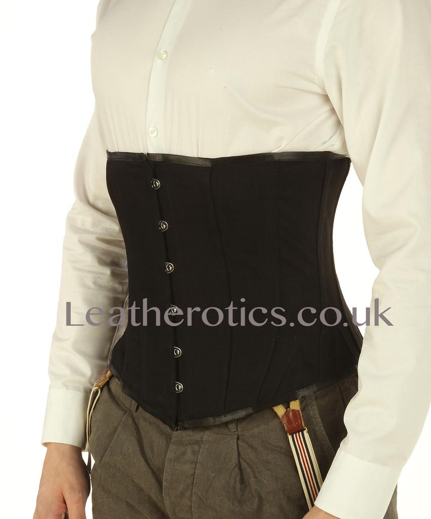 Mens underbust corset