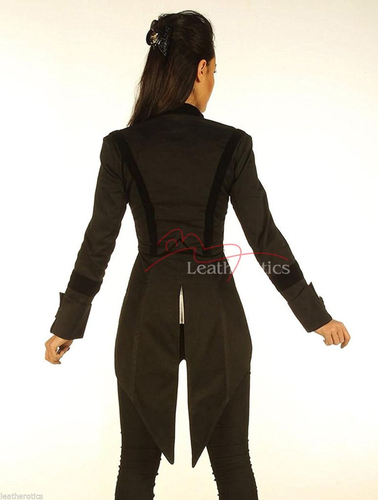 Ladies Tailcoat Gothic Vintage Costume pic 1