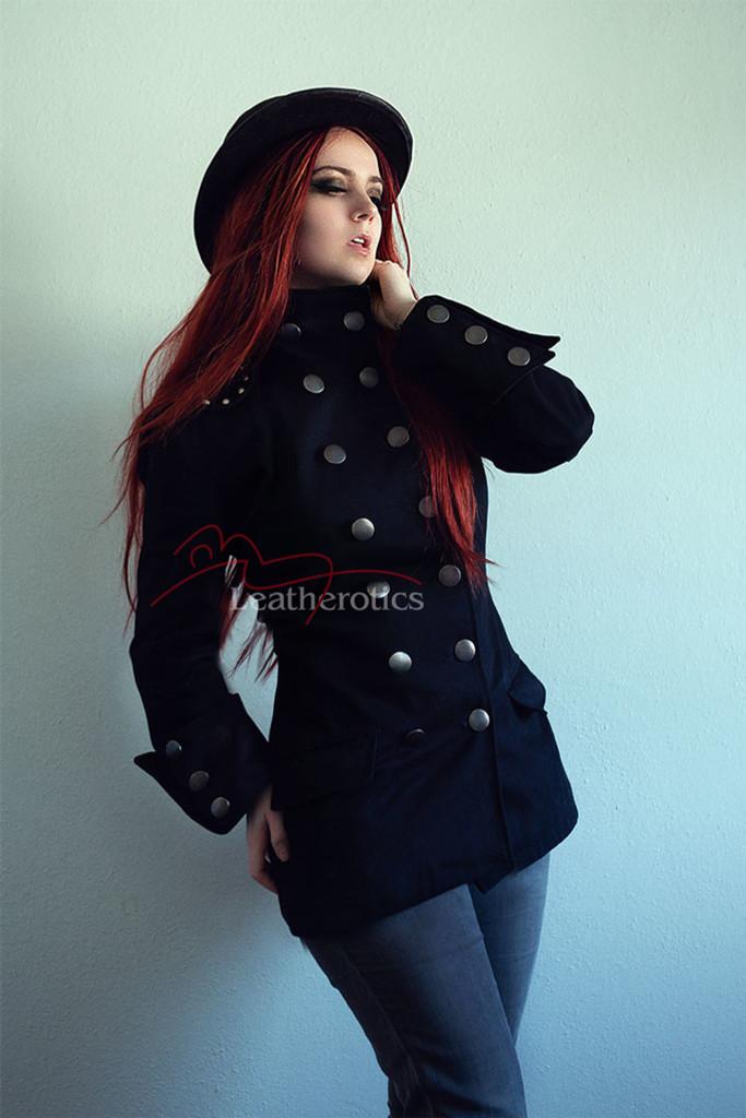 Women's Gothic military jacket