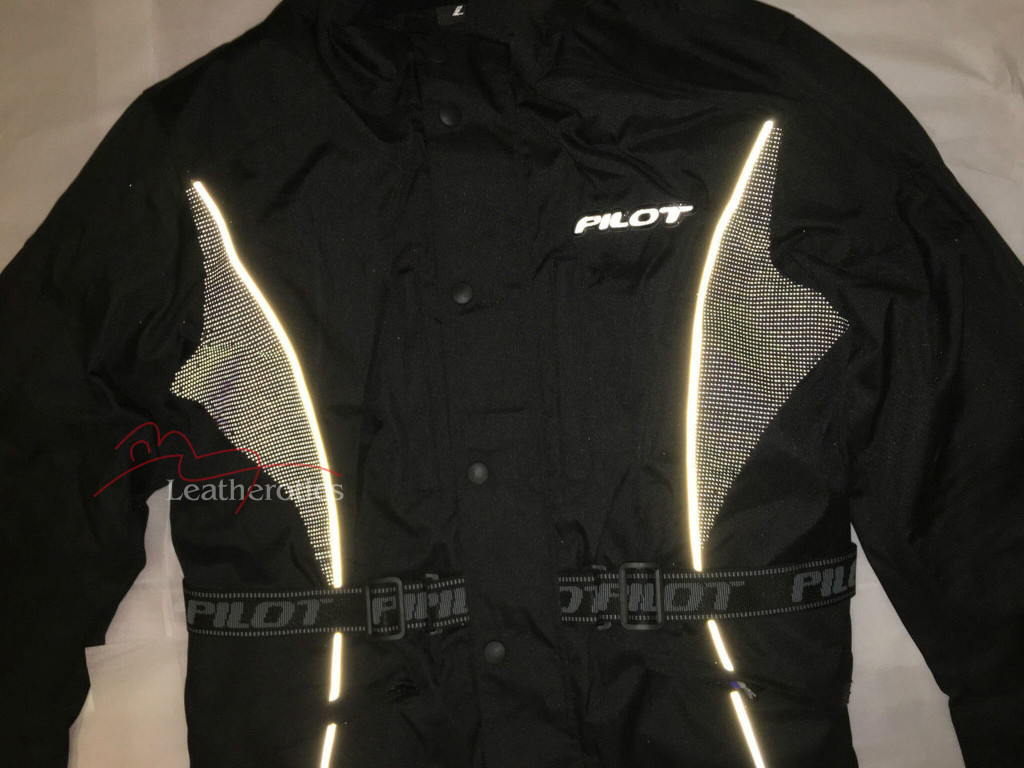 Fully Breathable Fabric Boys Biker Suit Jacket