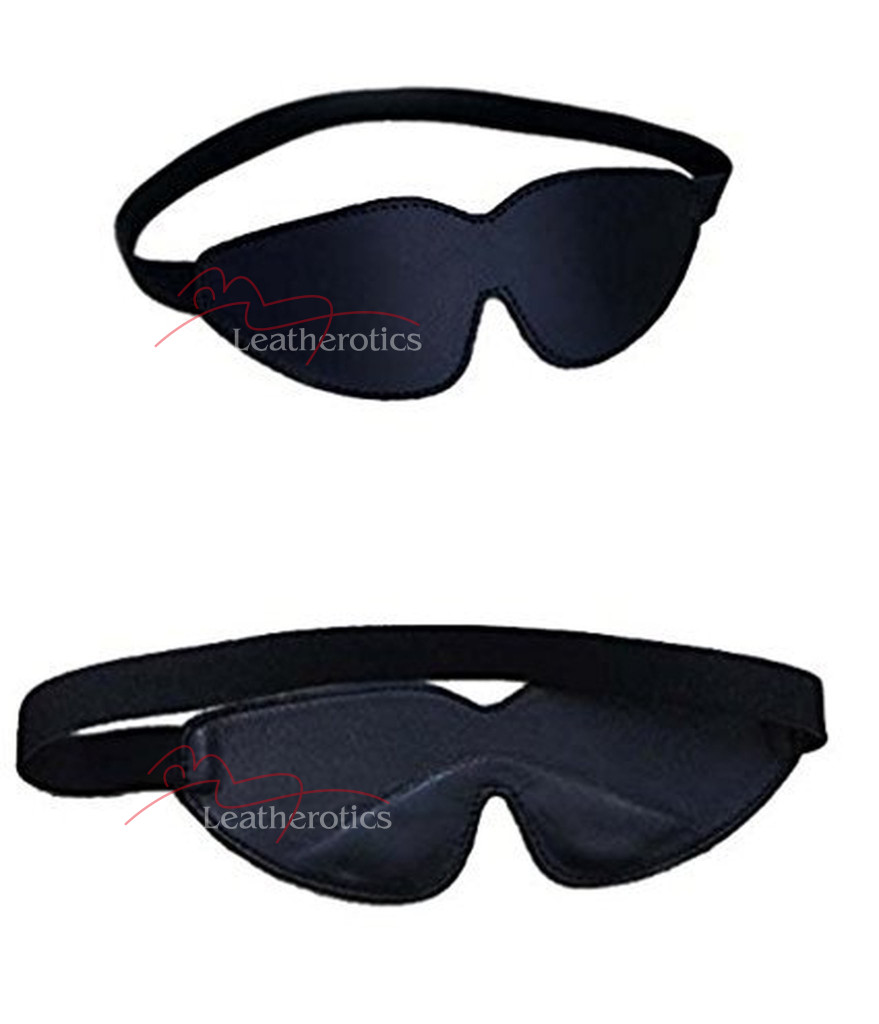Velvet Blindfold Padded Eye Mask Hood