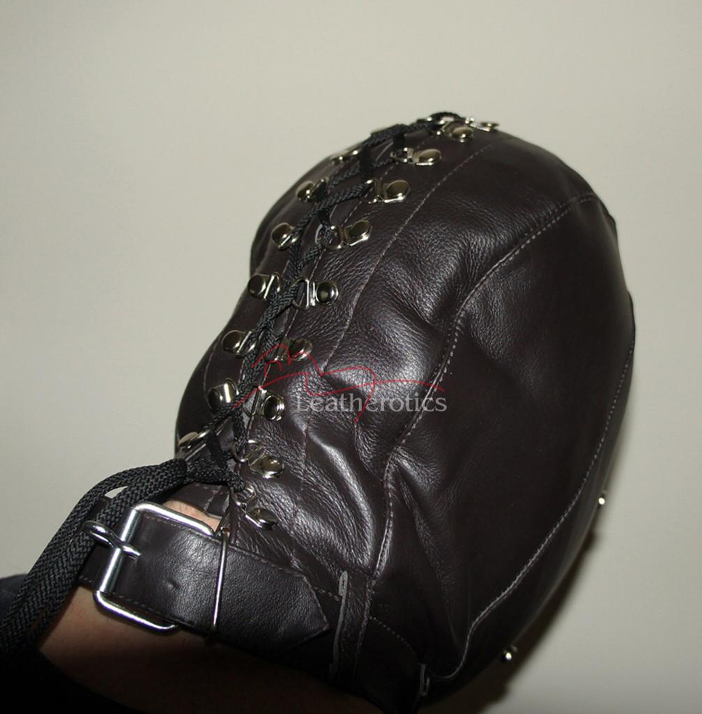 Leatherotics bondage hood