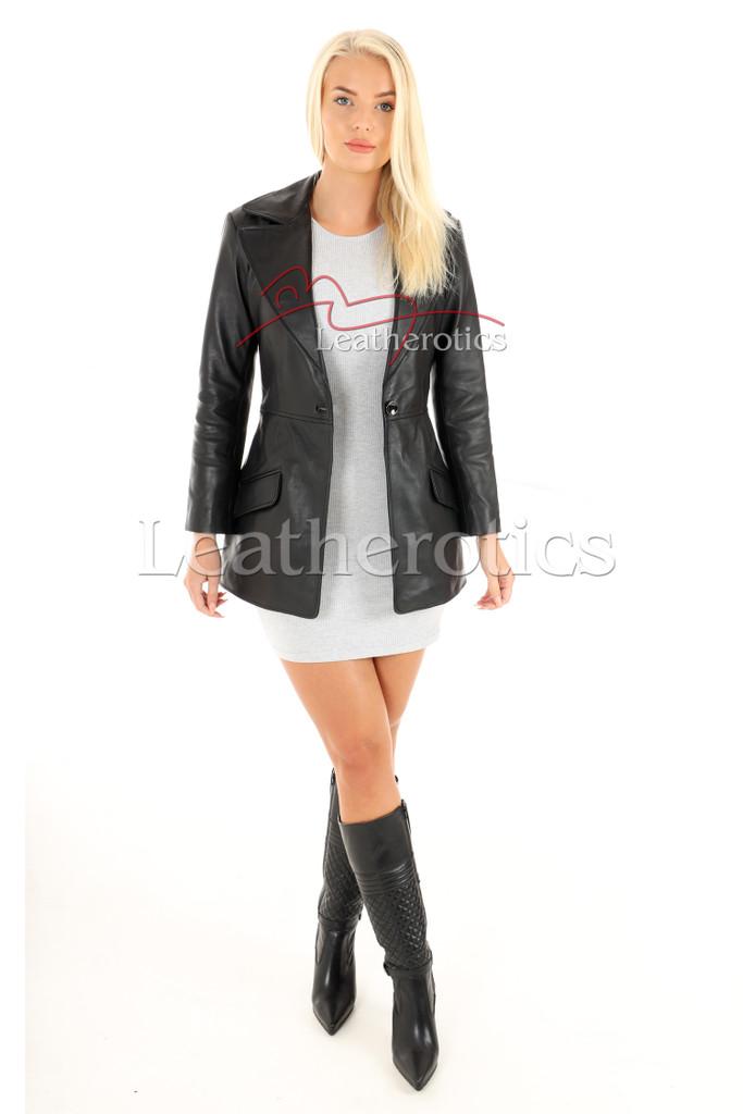 Women's Leather Tunic 1
