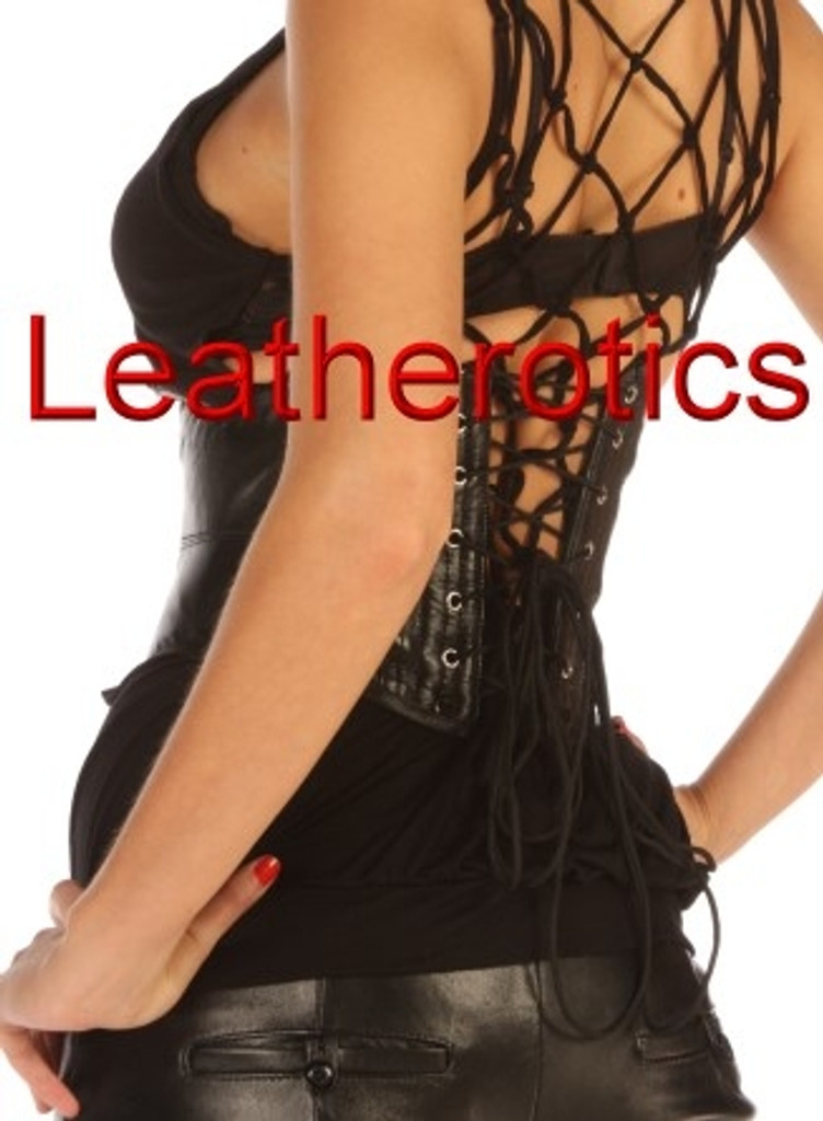 Mini Corset Underbust Leather wide Waist belt