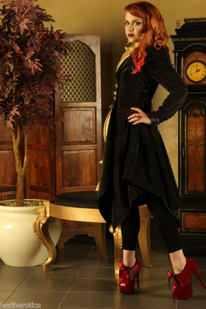 Ladies Coat Gothic Vintage Jacket image 1