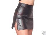 Designer Classic Leather Skirt Mini Tight Fit