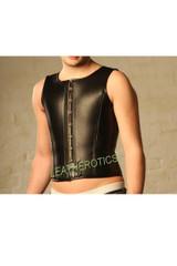 ens leather corset - front