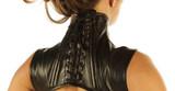 Real Leather Shoulder Corset  Harness Binder