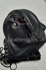 Soft Leather Audio Hood Mask