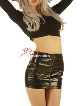 Real Leather Spanking skirts
