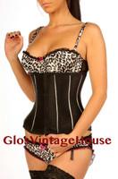 1811 stripe corset - front