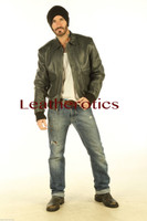Full Grain Leather Jacket Classic Waist Length Cowhide