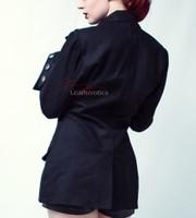 Womens Steampunk Military Jacket Top MSP