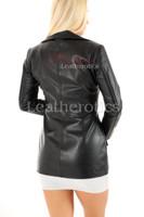 Women's Leather Tunic - back