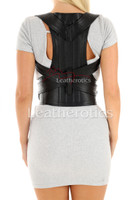 Women's Adjustable Leather Posture Support 3