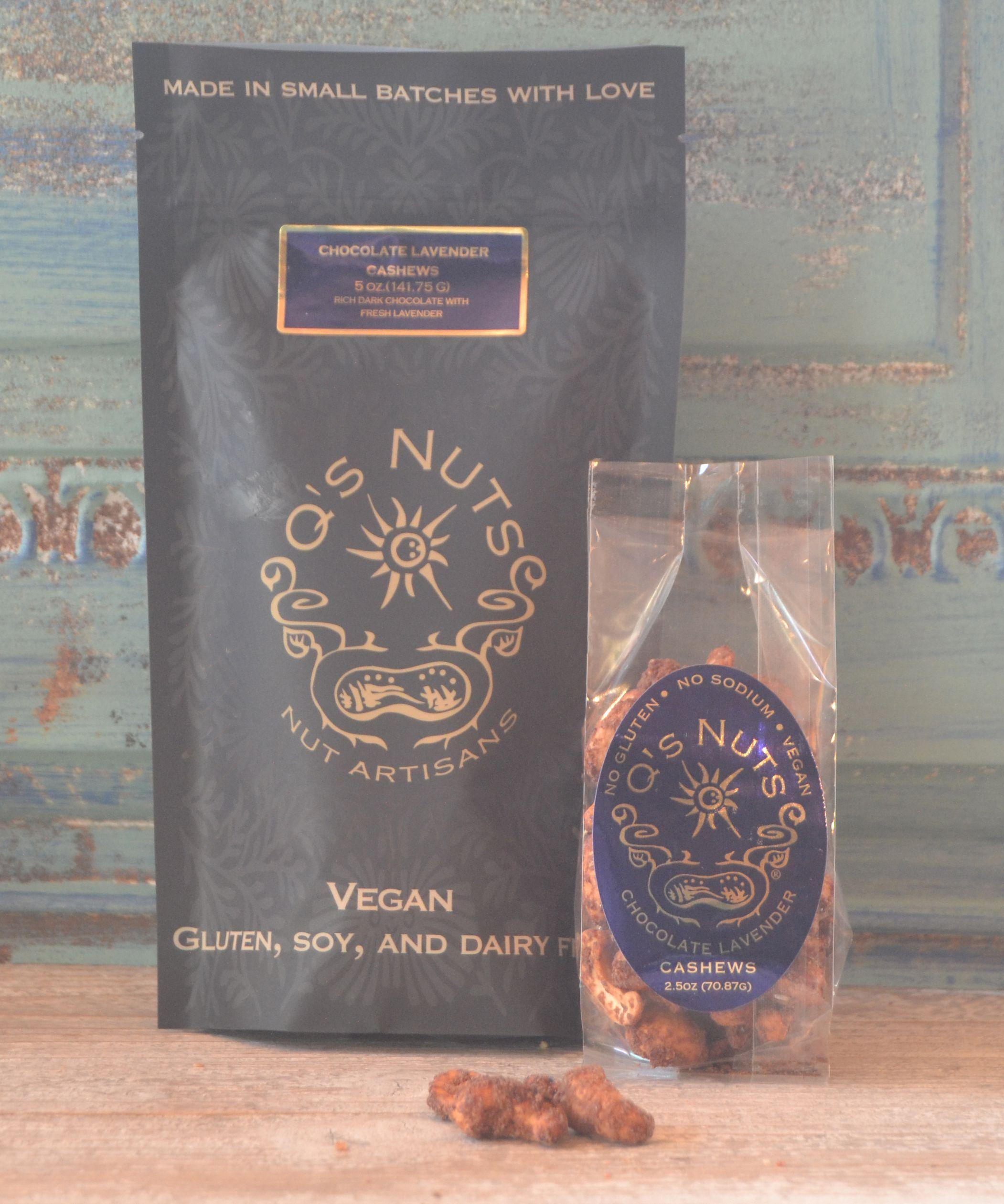 Chocolate Lavender Cashews