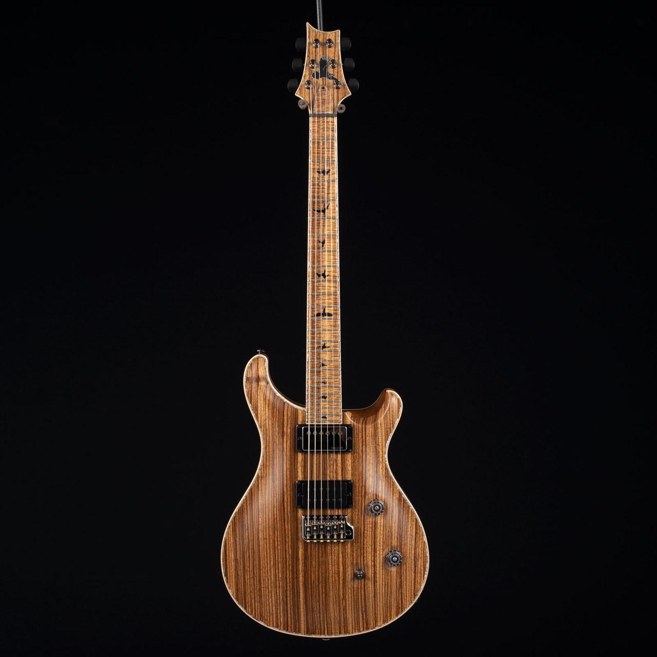 30555629a47 PRS Private Stock Custom 24 Natural Zebrawood 6512 at Moore Guitars
