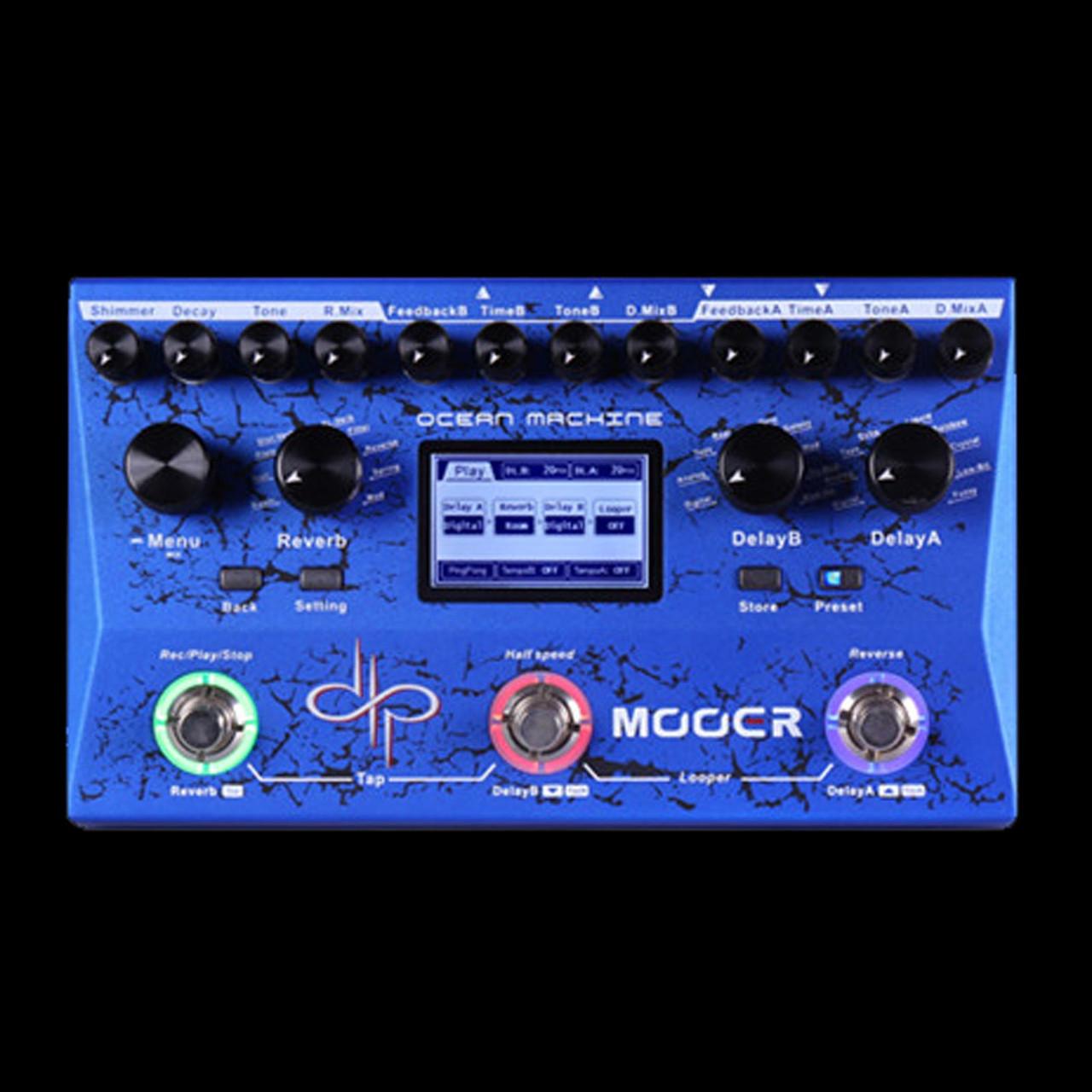 Mooer Ocean Machine Devin Townsend Guitar Effects Pedal MOCEAN