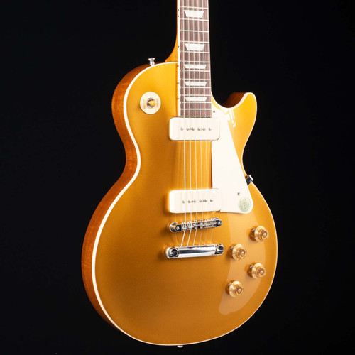 Gibson Les Paul Standard 50's P90 Gold Top 183   Call 888-794-8482 To Order!