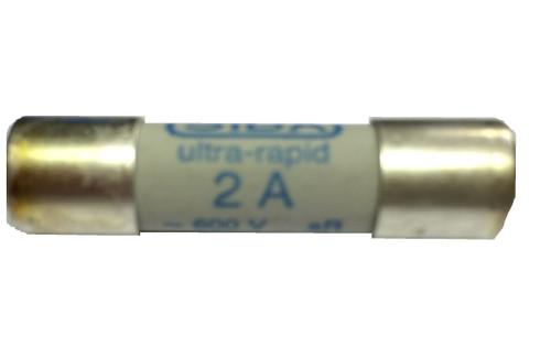 SIBA Fuse 6003305 60 033 05 60-033-05 2A 10 x 38 mm Ultra Rapid Fuse
