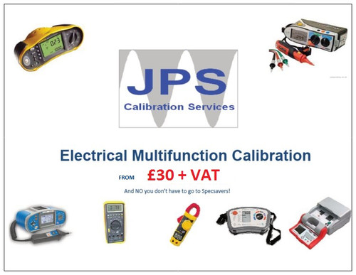 Electrical Multifunction Tester MFT Standard Traceable Calibration with Shipping