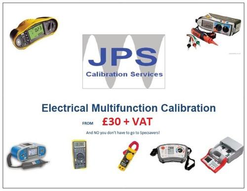 Electrical Multifunction Tester MFT Standard Traceable Calibration Express