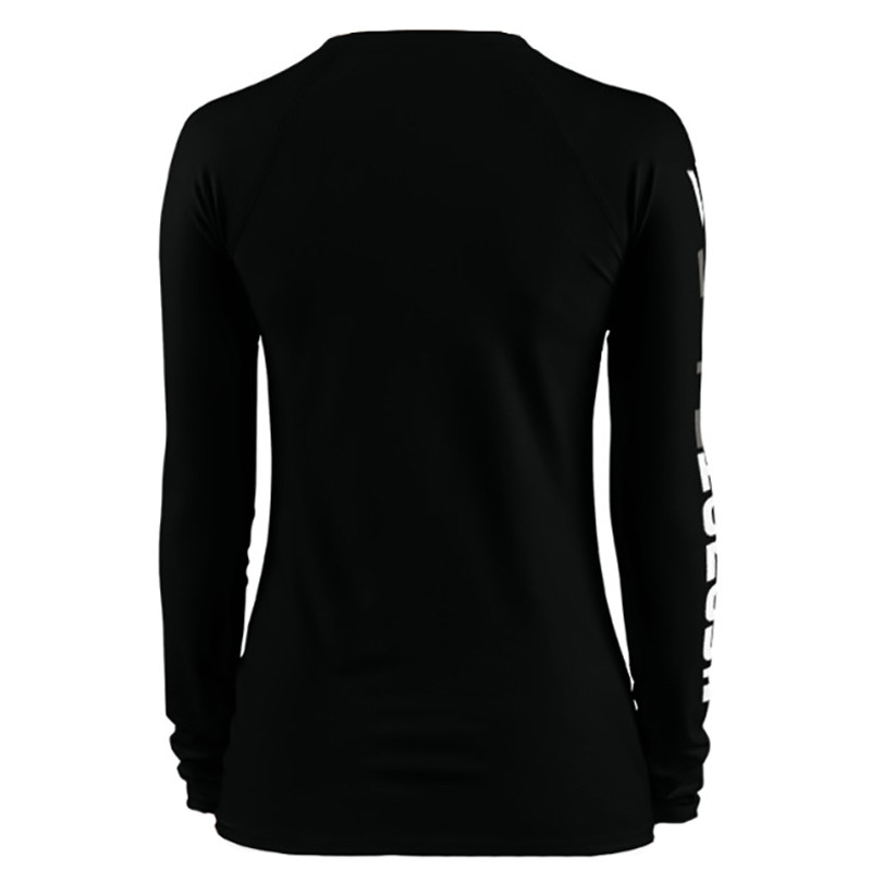Women's Black Rash Guard