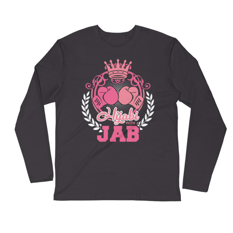 Hijabi with a Jab Long Sleeve Shirt