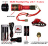 38LRX Flashlight Package With 1 - 4 colors
