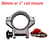 30mm  or 1 inch rail mount