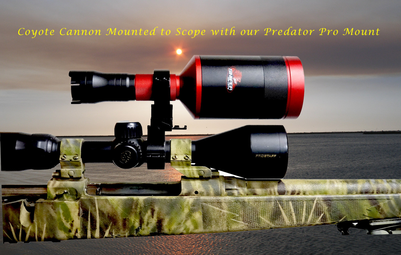Coyote Cannon Light With 1 - 4 colors