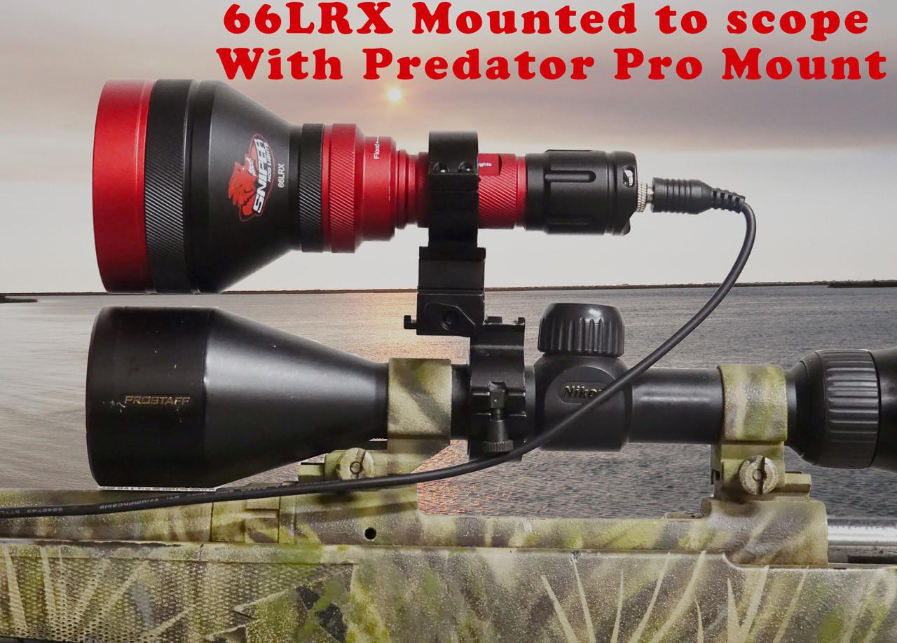 66LRX Rifle light 1 - 4 colors