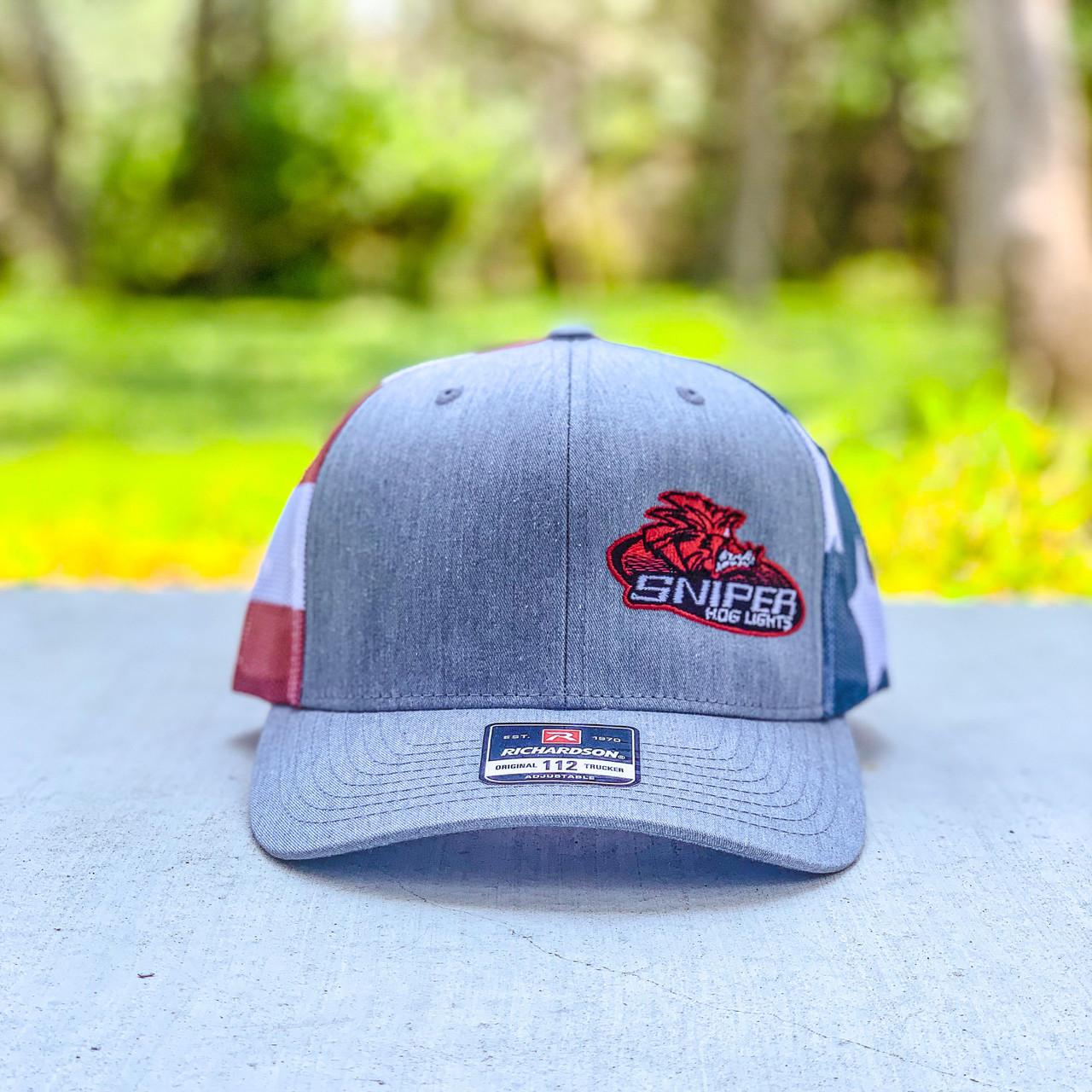 Sniper Hog Lights USA Hat