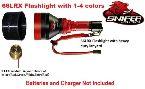 66LRX Flashlight  with 1 - 4 colors
