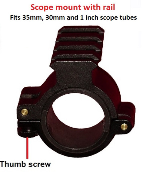 Scope Mount with rail