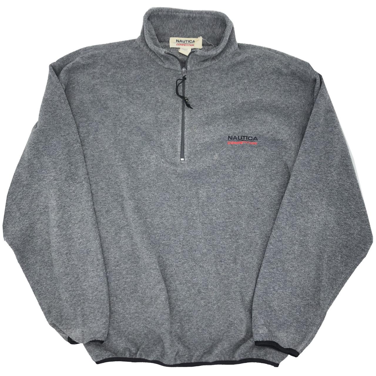 Vtg Nautica fleece sweater