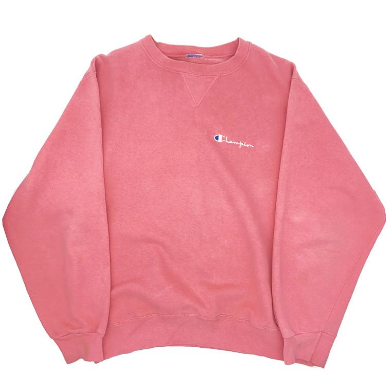 Vintage early 90s Champion pale pink Crewneck