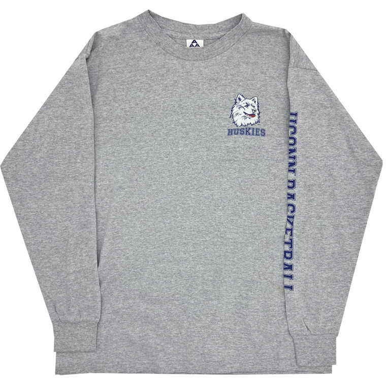 Vintage Uconn Huskies L/S shirt